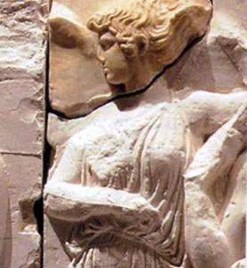 Η φτερωτή θεά Ίρις