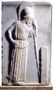 Η σκεπτομένη Αθηνά