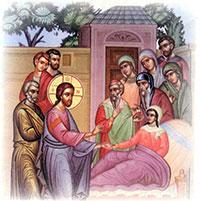 Η ανάσταση της κόρης του Ιαείρου