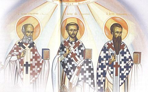 Οι τρεις Ιεράρχες και η αίρεση